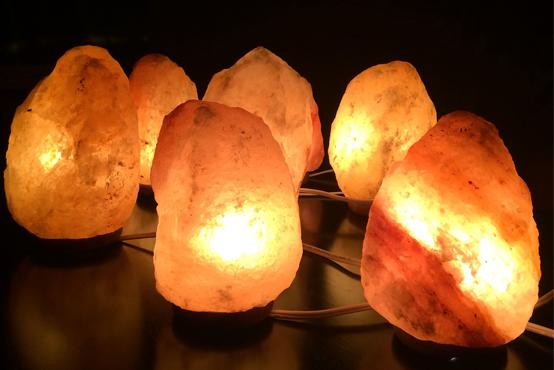 Lampade di sale: i benefici