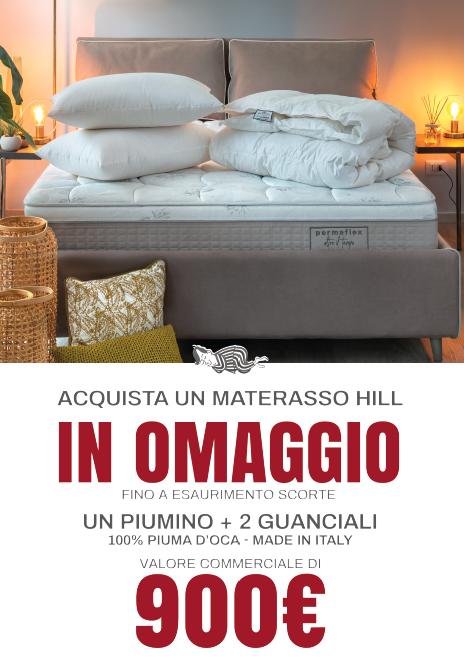 promozione permaflex materasso hill